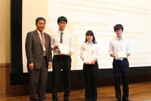 授賞式 Chemistry Letters Young Poster Award Winners.jpg