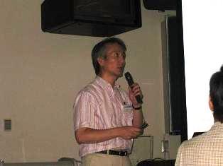 基生研 皆川教授による講演「超・超複合体形成による光合成電子伝達の制御」