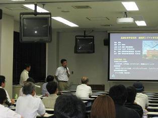 基生研 松林教授による講演「新しい植物ペプチドホルモンを探す」