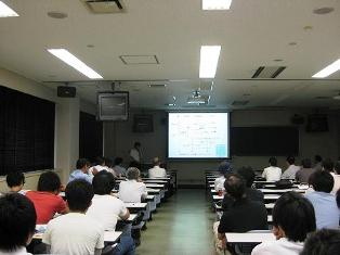 基生研 松崎教授による講演「大脳神経細胞活動の光計測と光操作」