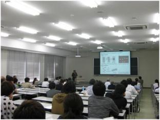名工大 樋口真弘教授による講演「自己組織化によるナノ微粒子の空間配列制御」