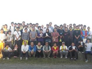参加者による記念写真