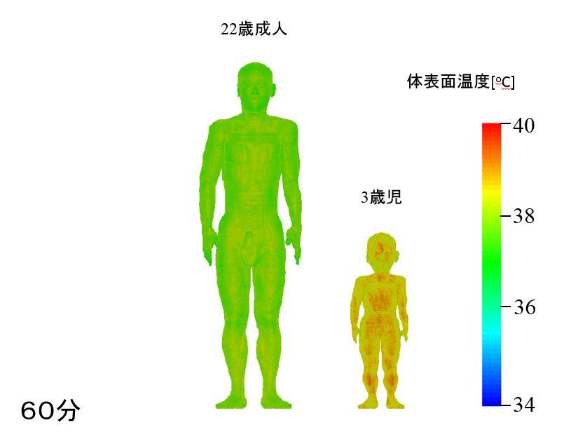 気象データと連動した熱中症リスク評価システムの開発 ~幼児60分で熱中症リスク、真夏にアスファルトの歩行~