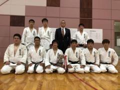 柔道部が第55回全国国立工業大学柔剣道大会で35年ぶりに団体優勝!個人戦では舟橋和哉さんが優勝、杉江一鷹さんが3位になりました。