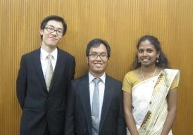 アジア人財ものづくりスーパーエンジニア養成プログラム秋期修了留学生成果発表会が行われました