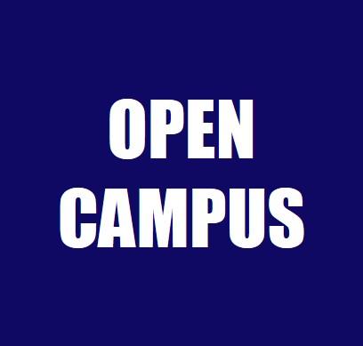 6/18(土) 第1回オープンキャンパス 事前予約の受付を開始