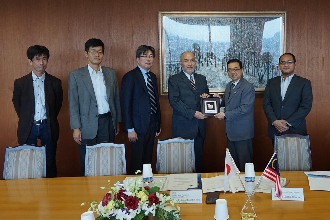 マレーシア工科大学(UTM)副学長が来学しました