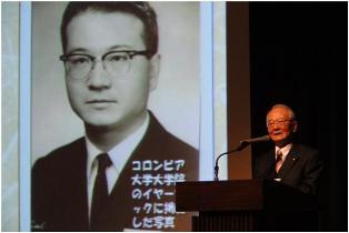 牛込進氏のOB特別講演会