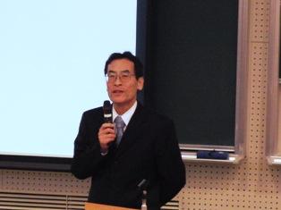 入倉様による講演「ものづくりは楽しい」