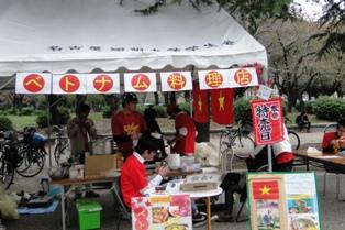 留学生による人気のベトナム料理店