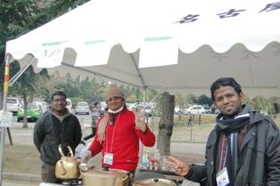 インド留学生によるカレー店